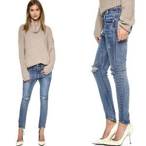 On teaspoon desperado jeans. Distressed style